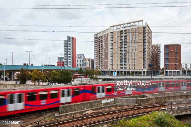 View across Canning Town train station Canning Town London United Kingdom Architect N/A 2017