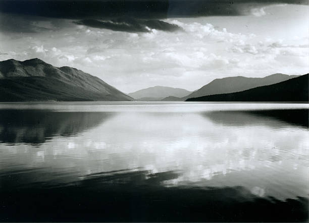 'Evening, McDonald Lake, Glacier National Park'