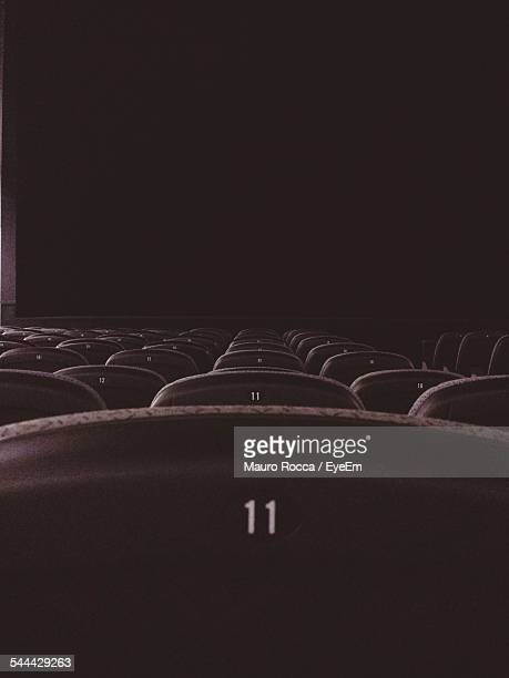 View Across Rows Of Seats