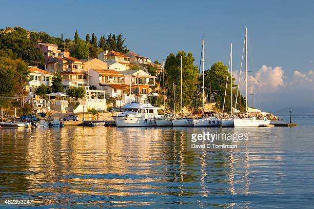View across the harbour, Kassiopi, Corfu, Greece