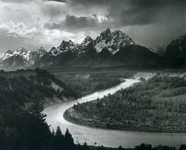'The Tetons - Snake River'