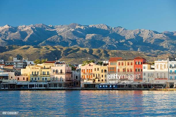 View across the Venetian harbour, Hania, Crete