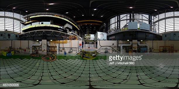 A 360 view at Hunterston B power station of the reactor 3 pile cap on November 28 2013 in West Kilbride Scotland Hunterston B Power station is...