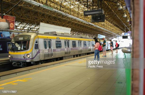 View at Light Rail Transit-Line 2 few hours before Manila, the Philippine capital will be put into quarantine. Metro Manila will be placed under...