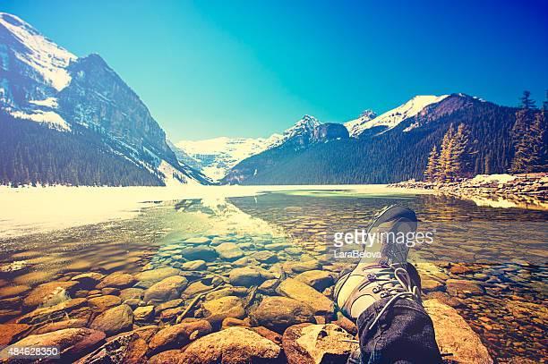 View at Louise Lake