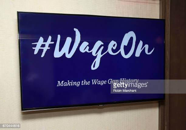 View at Luna Bar And Motivate Design Present Wage On: Making The Wage Gap History at WestHouse Hotel on April 19, 2017 in New York City.