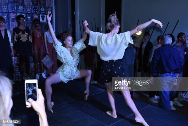 A view at the Berenik presentation during New York Fashion Week on September 12 2017 in New York City