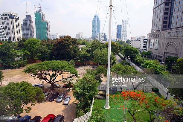 View at the sold and cleared parts of the British embassy in Bangkok on Tuesday May 16 2006 The British Empire shrank by the equivalent of two soccer...
