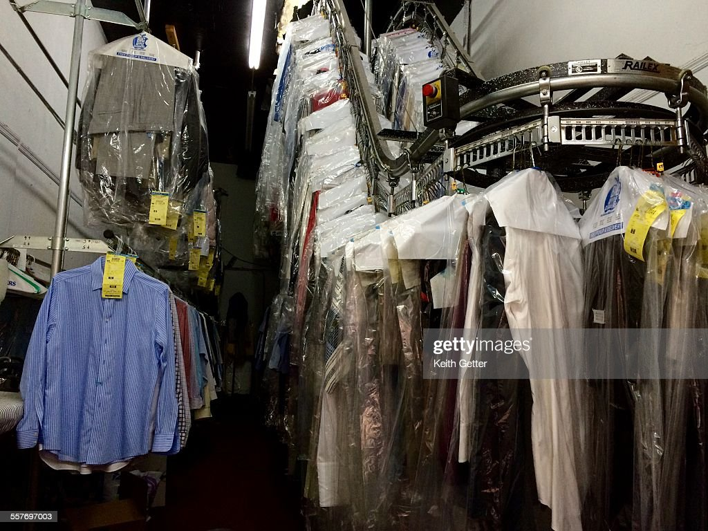 Cleaning Clothes  : News Photo