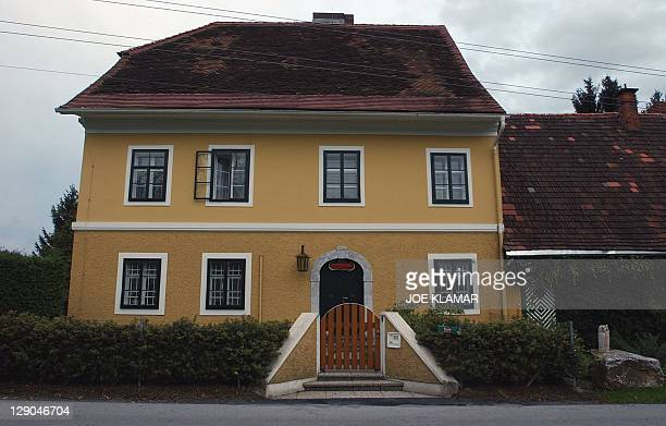 View dated early 08 October 2003 of the house where Hollywood star Arnold Schwarzenegger grew up in the village of Thal bei Graz As Austrian awoke to...
