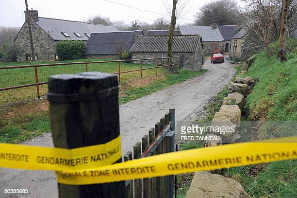 View dated on March 26 2008 of the farm in SaintNicolas du Pelem where a newborn baby girl was found dead in the freezer Police in Brittany have...
