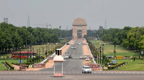 IND: Covid-19 Unlock 1 Rajpath Of India Gate Thoroughfare Partially Opened