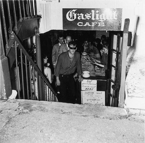 The Entrance To The Gaslight Cafe