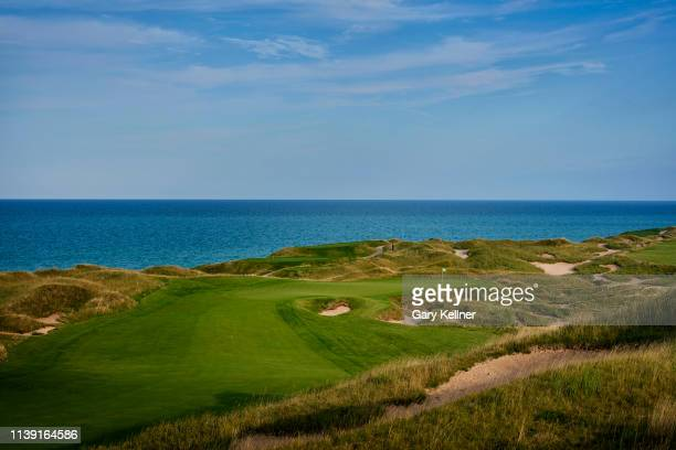 View from 14th hole of Whistling Straits Golf Course on October 15, 2018 in Sheboygan, Wisconsin.