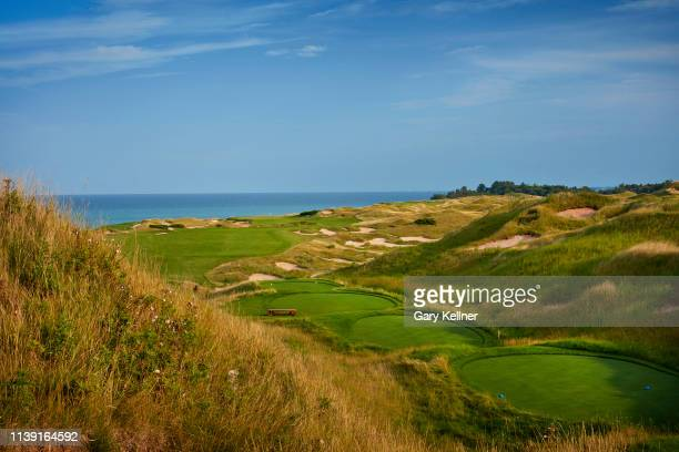 View from 15th hole of Whistling Straits Golf Course on October 15, 2018 in Sheboygan, Wisconsin.