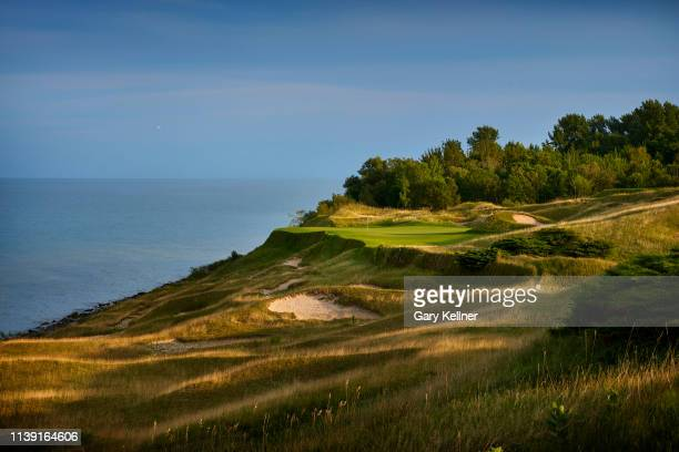 View from 17th hole of Whistling Straits Golf Course on October 15, 2018 in Sheboygan, Wisconsin.