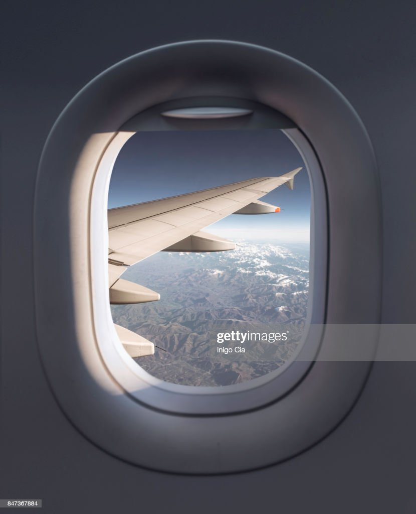 View from a airplane : Stock-Foto