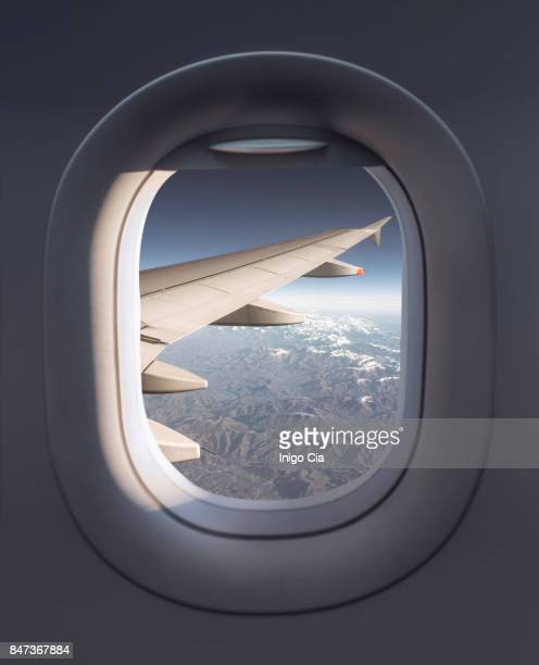 View from a airplane