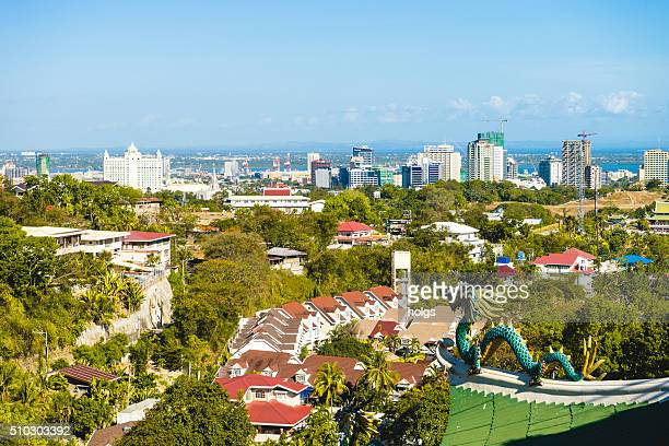 View from a Taoist temple in Cebu, Philippines