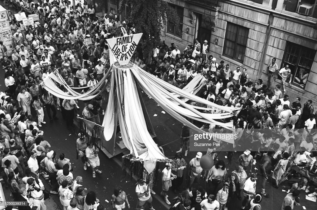 NYC Gay Pride March, 1990 : News Photo