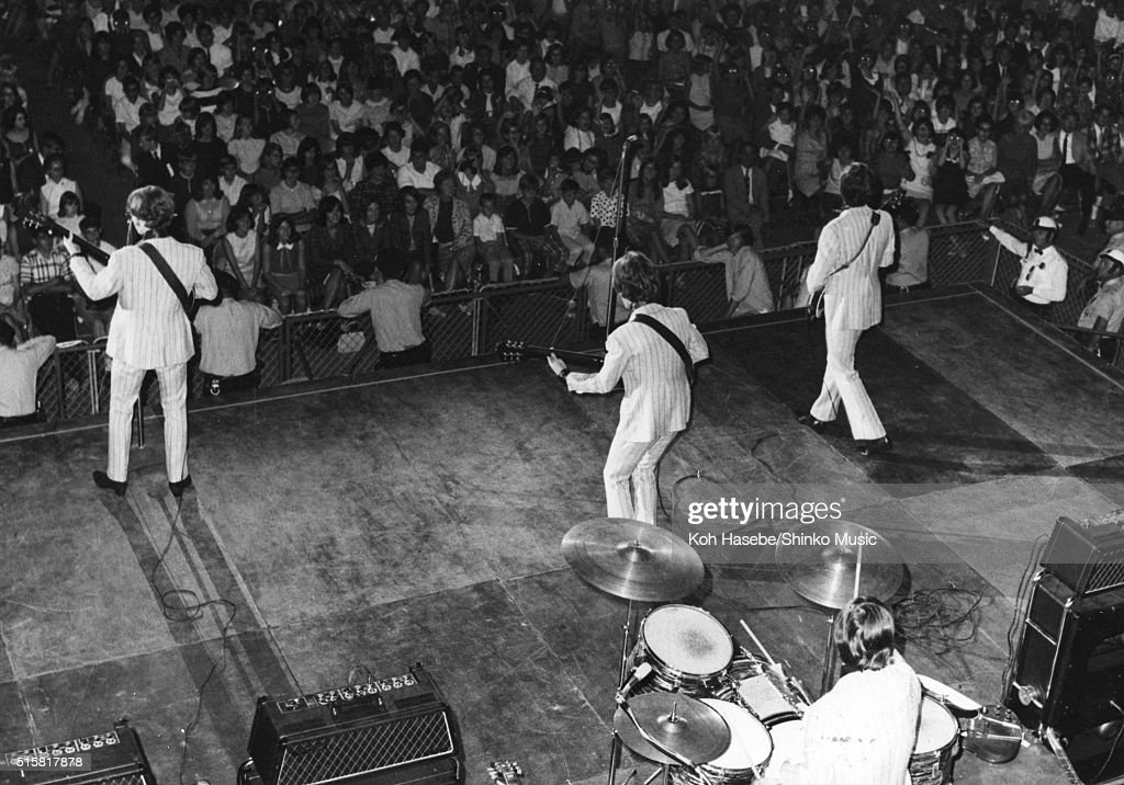 Beatles Live At Memphis Mid-South Coliseum : News Photo