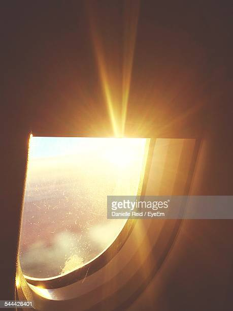 view from airplane window - reid,_wisconsin stock pictures, royalty-free photos & images