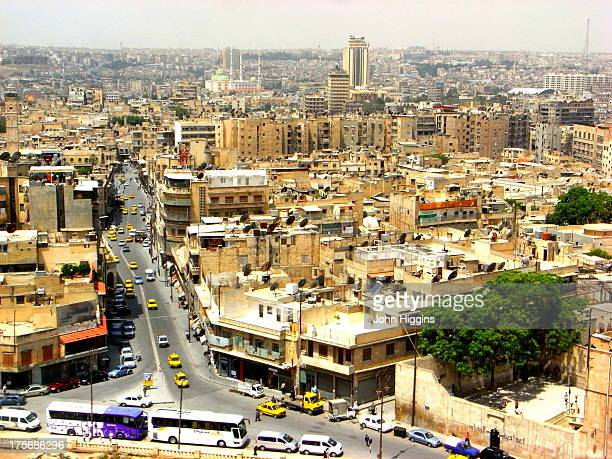 CONTENT] View from Aleppo Citadel Syria May 2009