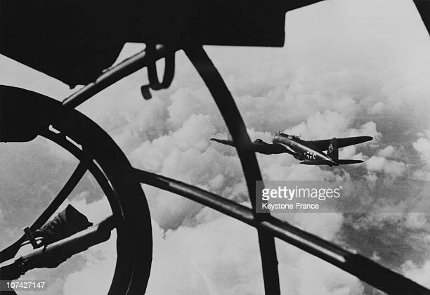 View From An Aircraft During The Raid Over England On August 26Th 1940 In England