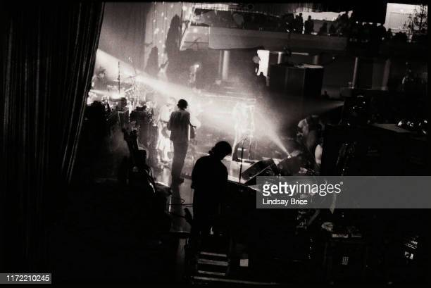 View from back of stage during Mazzy Star performance at the Hollywood Palladium on November 26 1994 in Los Angeles