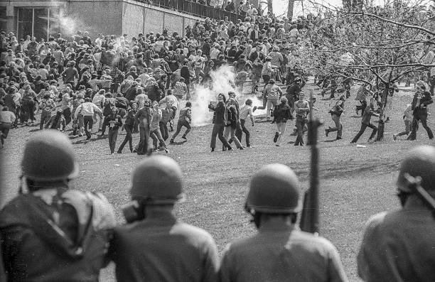 UNS: (GRAPHIC CONTENT) 4th May 1970 - The Kent State Massacre