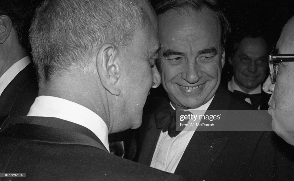 Cohn & Murdoch At Birthday Party : News Photo