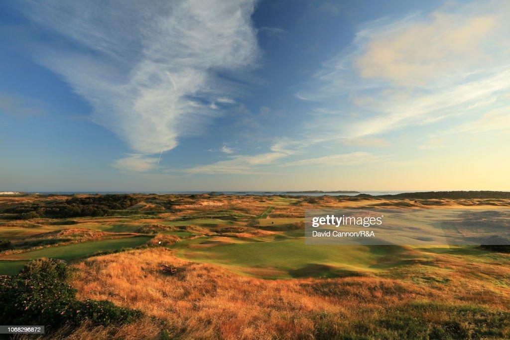 General Views of Royal Portrush Golf Club : ニュース写真