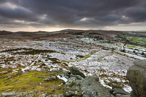 View from Bell Tor towards Haytor Rocks