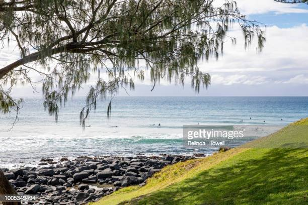 View from Burleigh Heads National Park