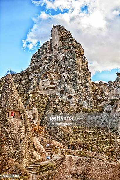 a view from cappadocia - emreturanphoto stock pictures, royalty-free photos & images