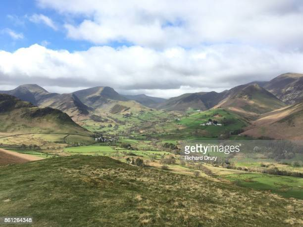 View from Cat Bells over Newlands Valley