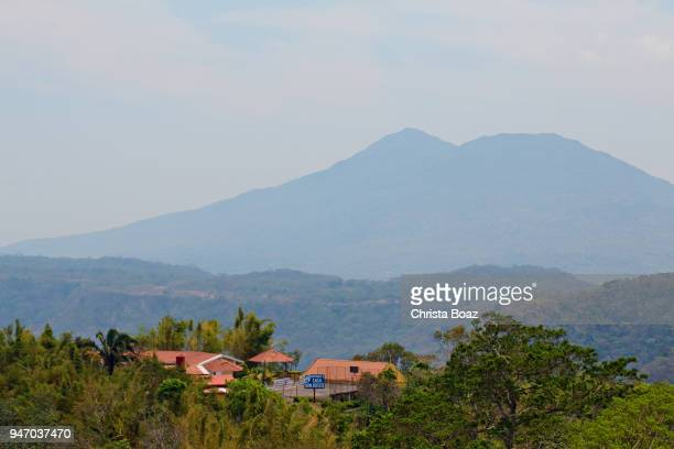 view from catarina - stratovolcano stock photos and pictures