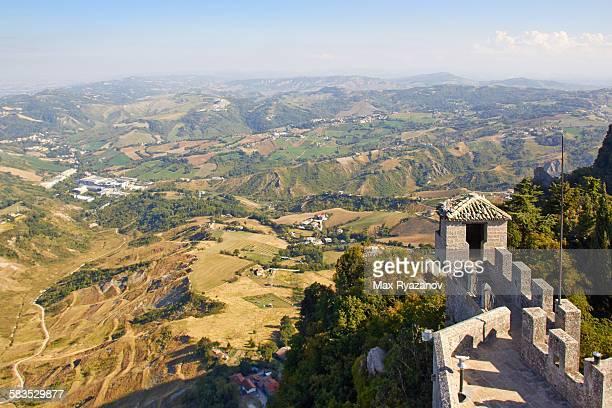 View from Cesta (De La Fratta), San Marino