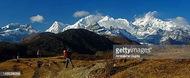 View from Deorali Top near Dzongri