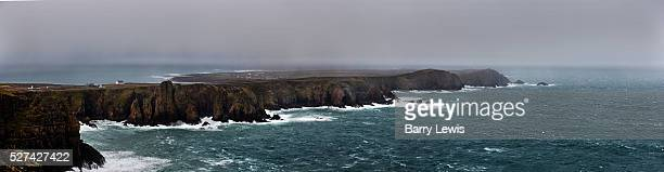 View from Dun Bhaloir on the high east of Tory island Tory Island nine miles off the Donegal coast NorthWest Ireland This remote island two and a...