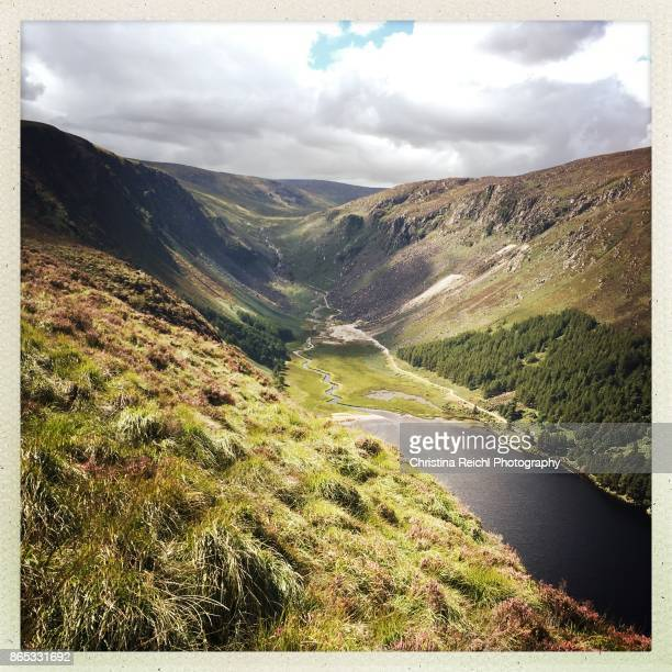 View from Glendalough National Park, Republic of Ireland