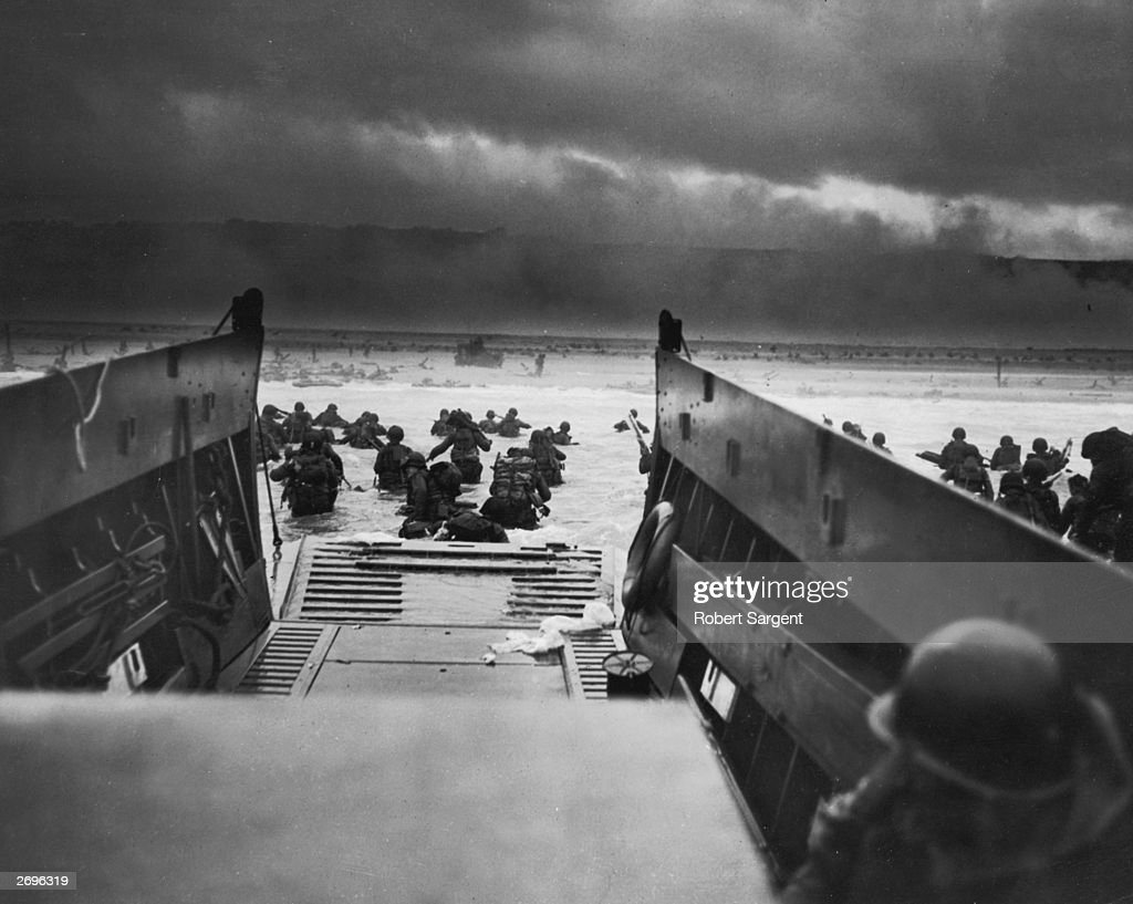D-Day Landings : News Photo