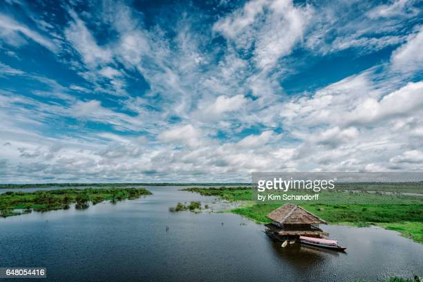 view from iquitos - iquitos stock pictures, royalty-free photos & images