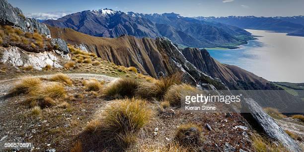 View from Isthmus Peak Lake Wanaka
