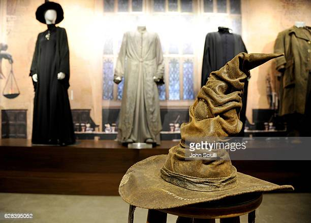A view from JK ROWLING'S WIZARDING WORLD The Harry Potter and Fantastic Beasts Exhibit at Warner Bros Studio Tour Hollywood at Warner Bros Studios on...