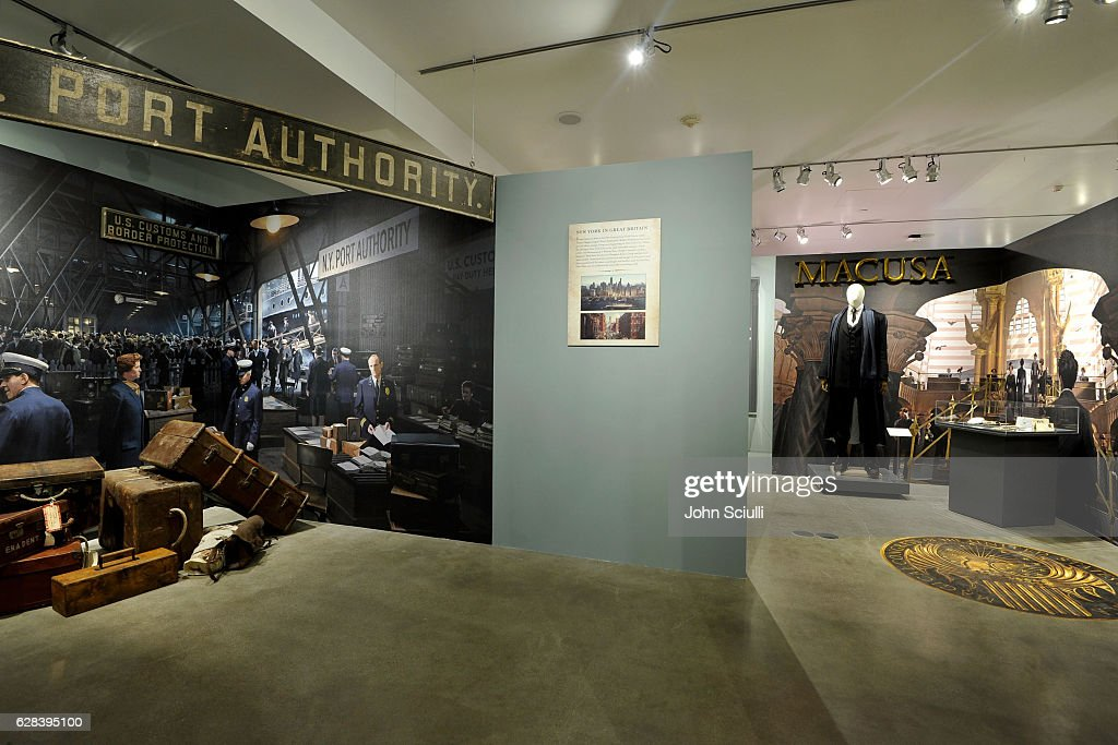 From J.K. ROWLING'S WIZARDING WORLD: The Harry Potter and Fantastic Beasts Exhibit at Warner Bros. Studio Tour Hollywood : News Photo