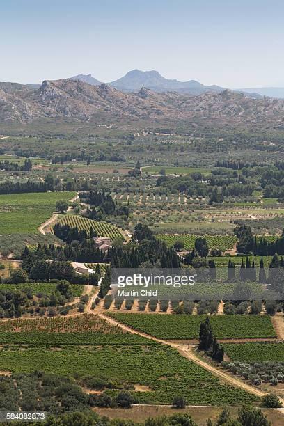 A view from Les Baux-de-Provence