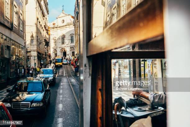 View from Lisbon tram