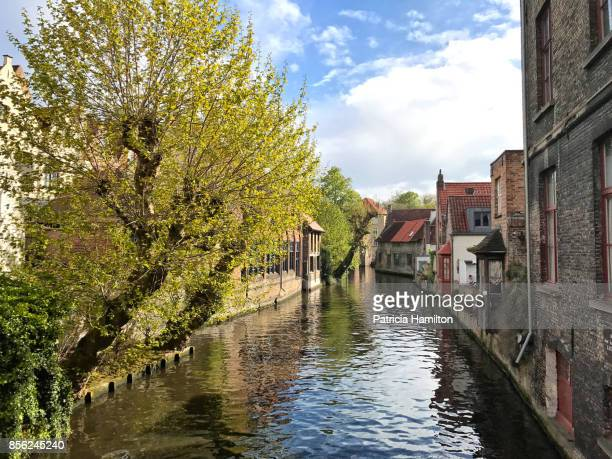 View from Mariastraat bridge, Bruges