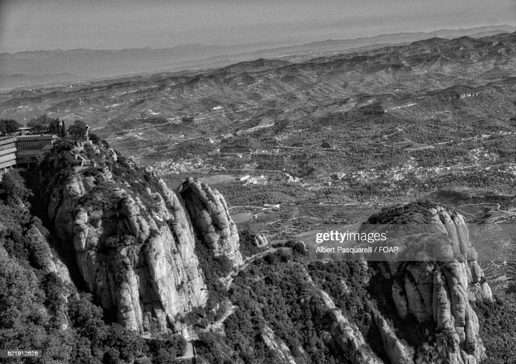 View from Montserrat : Stock Photo